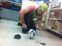 I work at a pet store After hours things get serious