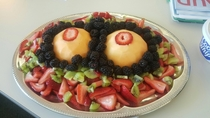 I work for a plastic surgeon He turned  today I make him this fruit salad every year for his bday