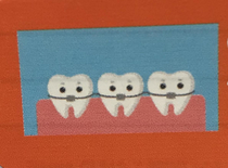 I work in the dental field This was the cuteimage on a doctors mailing label
