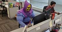 Id like to conquer Castle Greyskull sure But these finance reports are due by  and they aint gonna do themselves
