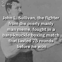 Id say we picked the right guy for the overly manly meme