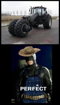 If batman was a farmer