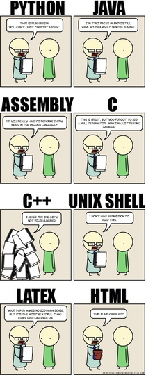 If programming languages were essays