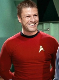 If Sean Bean played a role in star trek