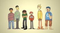 If Sesame Street characters were on Recess