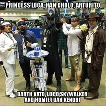 if Star Wars was Mexican