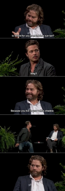If were posting Between Two Ferns skits