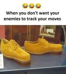 If you dont want your enemies to track your moves
