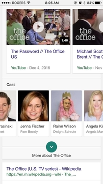 If you google the office cast they all have completely normal photos And then theres Rainn Wilson