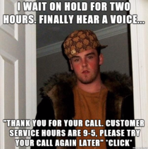 If your companys customer service department does this fuck you