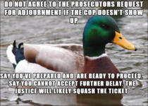 If youre fighting a speeding ticket