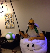 If youre going to do a Mario Bros costume dont half-ass it