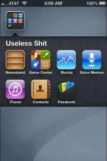 If youve had an iPhone for a while you probably have a folder or a page like this