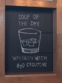Ill have the soup and salad please