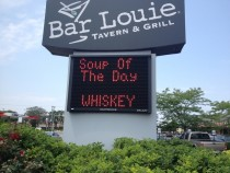 Ill have the soup of the day
