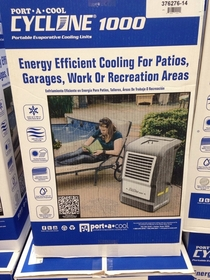 Ill just air-condition the outside because fuck the electric bill