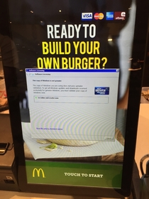Ill pay for my burger when you pay for Windows