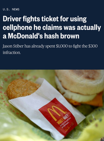 Ill take an Egg McMuffin and a burner phone please