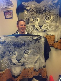 Im a band director and for Christmas two of my students got me the exact same cat blanket I AM SO EXCITED