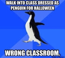 Im a substitute teacher and wore a costume to school for fun