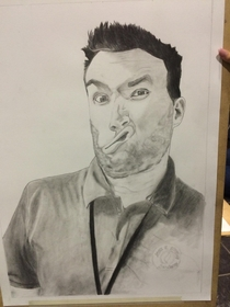 Im a teacher one of my kids drew me for an art project Ended up buying it