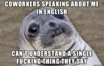 Im an American working in Scotland