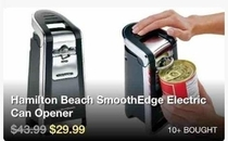Im not sure you need a can opener for that one