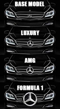 Im starting to understand how Mercedes Benz logos work
