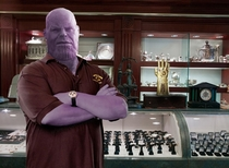 Im Thanos and this is my pawn shop One thing Ive learned after infinite eons  you never know whats gonna come through that door