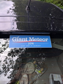 Im voting for Giant Meteor