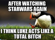 Im watching Star Wars A New Hope