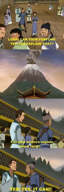 Im watching the Avatar series for the first time This scene had me cracking up