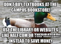 In a world where the price of textbooks per semester can cost up to semester one man will provide the perfect solution