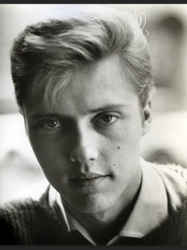 in case youve ever wanted to see a picture of Christopher Walken and think of Scarlett Johansson