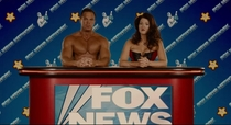 In Idiocracy while humanity became a dumbed-down civilization the only news channel that survived is Fox News