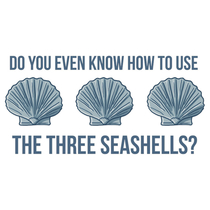 In light of all the shit going on with toilet paper we clearly need the Three Shell Method ASAP