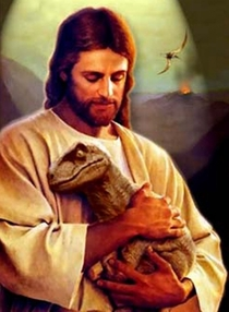 In light of the Christians against Dinosaurs how can they neglect photos like this