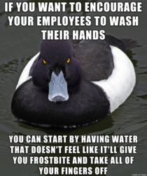 In light of the impending coronavirus pandemic something employers should probably consider when theyre trying to find every possible way to cheap out on basic amenities