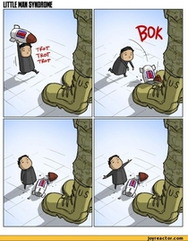 In light of the most recent threats my favorite NK vs US comic