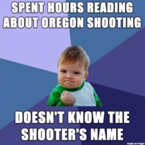 In regards to Oregon shooting Im so happy about this