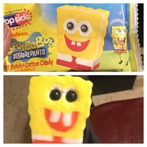 In response to the Cyclops spongebob  Gotta say that I was pretty impressed it looked this good