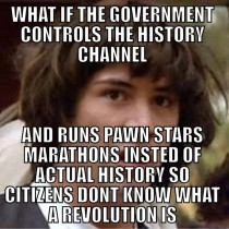 In response to the post about the history channels July th marathon