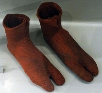 In th century Egypt socks were actually designed to be worn with sandals