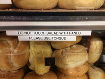 In the bread aisle