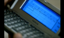 in the music video Dilemma Kelly tried to send a text with Microsot Excel