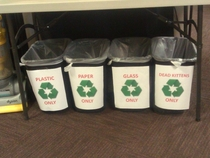 In the US Army we recycle X-Post rArmy