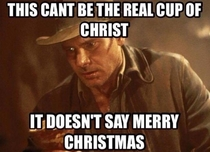 Indiana Jones and the Cup of Controversy