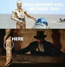 Indiana Jones is simply what Han Solo dreamt up while frozen in carbonite