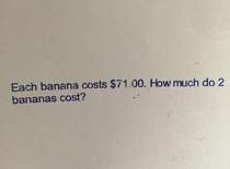 Inflation hit hard in elementary school math