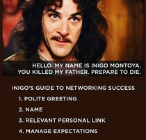 Inigos networking tips